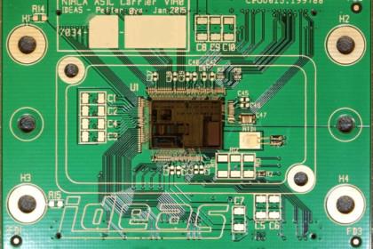 NIRCA on PCB