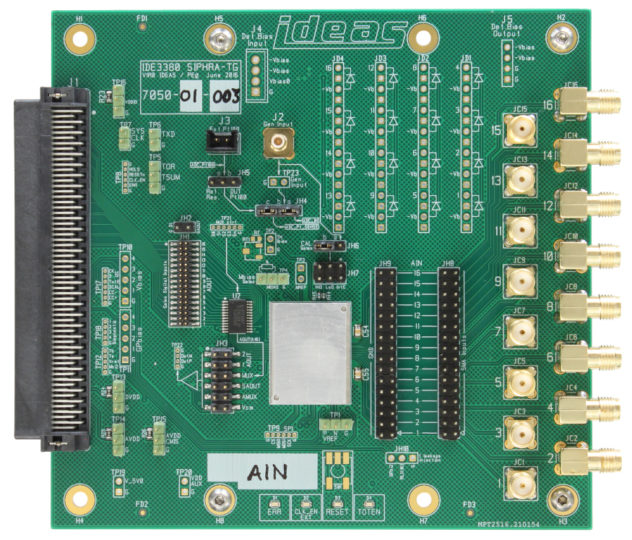 Galao ROIC test board for IDE33802